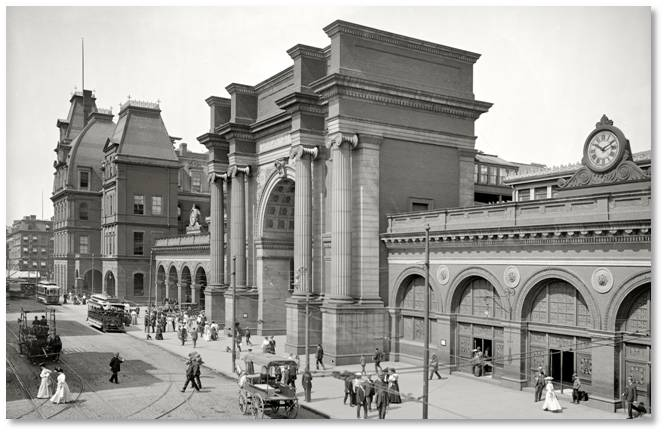 Union Station, Boston, lost buildings