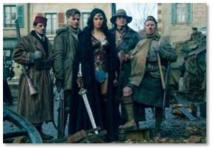 Wonder Woman, Steve Trevor, Gal Gadot, Chris Pine