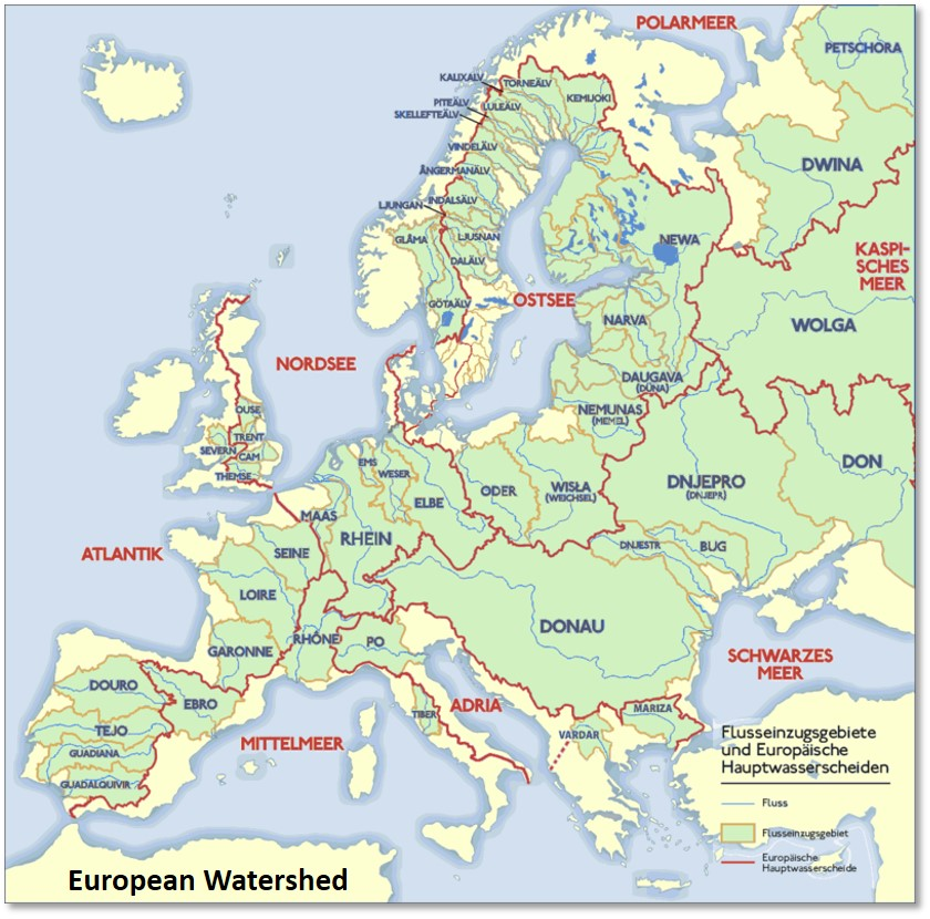 European Watershed, Grand European Cruise