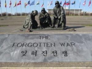 Korean War Memorial, Forgotten War