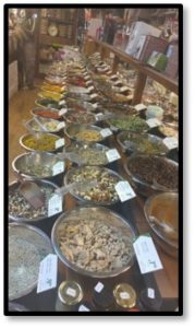 Israeli spice shop, spices, aromatics