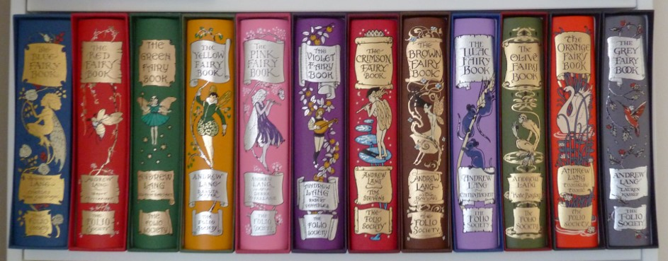Andrew Lang, fairy tales, complete set, Henry Ford Justice