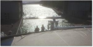 Melk, Ybb Lock, Danube Locks, European Watershed, river locks