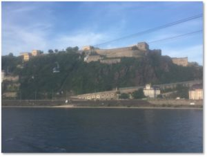 Ehrenbreitstein Fortress, Seilbahn, cable car, Koblenz