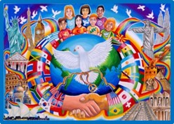 peace poster, cost of peace