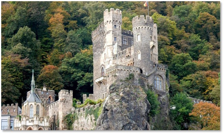 Rheinstein Castle, Rhine Castles, Viking River Cruises, Grand European Cruise