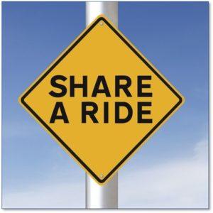 ride sharing, share a ride, Uber, Lyft, gig economy