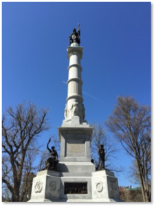 Boston Common, Soldiers and Sailors Monument, Flagstaff Hill, Martin Milmore