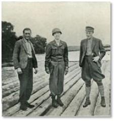 John Davis Skilton Jr. Monuments Men, Tiepolo ceilings, Wurzburg, Prince-Bishop's Residenz