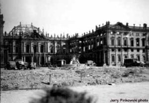 Prince-Bishop's Residenz, Wurzburg, John Davis Skilton, bombing