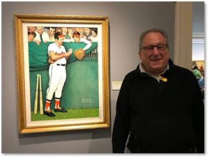 Brooks Robinson, Norman Rockwell, Saturday Evening Post, Norman Rockwell Museum, baseball