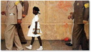 The Problem We All Live With, Norman Rockwell, Ruby Bridges, U.S. Marshals