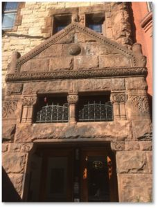 26 Exeter Street, First Spiritual Temple, Newbury Street Entrance