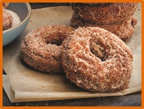 apple cider donuts, boiled cider