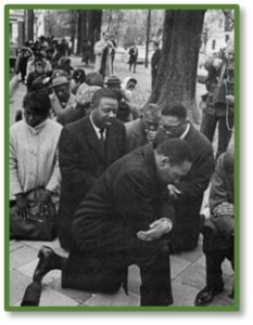 Martin Luther King Jr., take a knee, protest, civil rights, voting rights