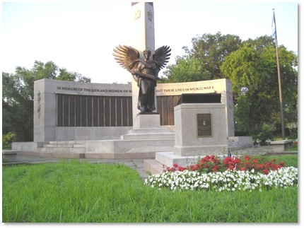 War Veterans Memorial Park, World War II Memorial, George Robert White Fund, Back Bay Fens, Charles Andrew MacGillivary