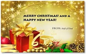 e-card, electronic Christmas Card, Strife of Cloud