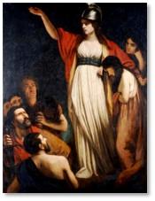 Queen Boudicca, John Opie, women in power