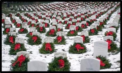 Christmas Wreaths, Arlington National Cemetery, Wreaths Across America, Susanne Sklinner