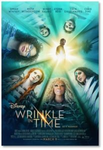 A Wrinkle in Time, Oprah Winfrey, Reese Witherspoon, Madeleine L'Engle