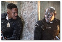Bright movie, Will Smith, Joel Edgerton, Orc, Netflix