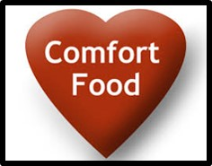Comfort Food, mac and cheese, tomato soup, brownies, chicken soup
