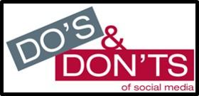 Do's and Dont's of Social Media, social media etiquette