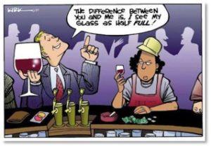 Glass is Half Full, privilege