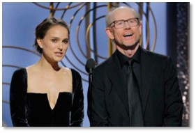 Best Director, Natalie Portman, Guillermo DelToro, Golden Globe Awards