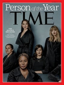 Time Magazine, The Silence Breakers, Person of the Year, strong women