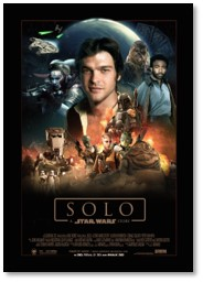 Solo-A Star Wars Story, Han Solo, Star Wars, Millenium Falcon