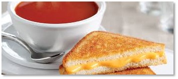 Campbell's Tomato Soup, Grilled Cheese Sandwich, Comfort Food