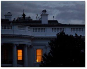 The White House at Dawn, insomnia, Alzheimer's Disease, Donald Trump