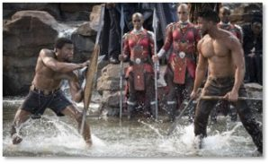 Black Panther, Ritual combat, T'Challa, Erik Killmonger