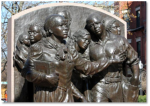 Harriett Ross Tubman Memorial, Fern Cunningham