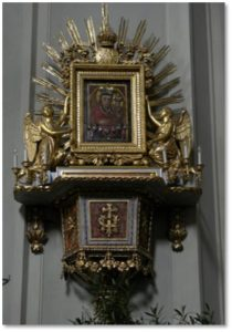 Maria Potsch Icon, Stephansom, Vienna, churches