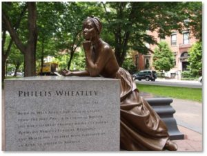 Phillis Wheatley, Boston Women's Memorial, Meredith Bergmann, Commonwealth Avenue Mall, Back Bay
