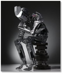 Robot Thinker, Auguste Rodin, artificial intelligence, AI