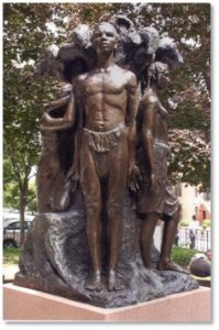 Spirit of Emancipation, Meta Vaux Warrick Fuller, Harriett Tubman Park