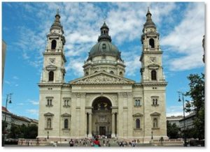 St. Stephen's Basilica, Budapest, European churches