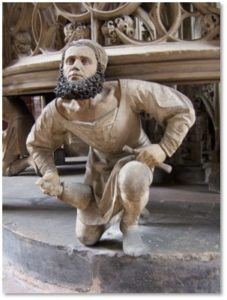 St. Lorenzkirche, Nuremberg, Adam Kraft, tabernacle