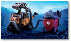 Wall-e movie, AI, artificial intelligence 3-D jobs