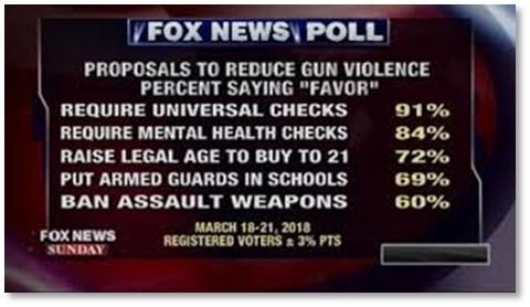 Fox News, gun poll, gun violence