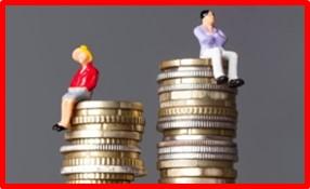 GEnder pay gap, gender discrimination, glass ceiling