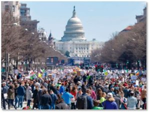 March for Our Lives, Washington DC, change