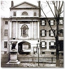 Franklin Place, Charles Bulfinch, Franklin Street, Arch Street
