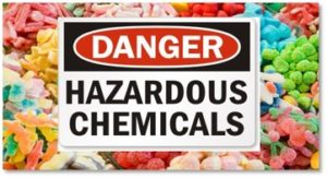 Danger - Hazardous Chemicals, processed food, food additives, microbiome
