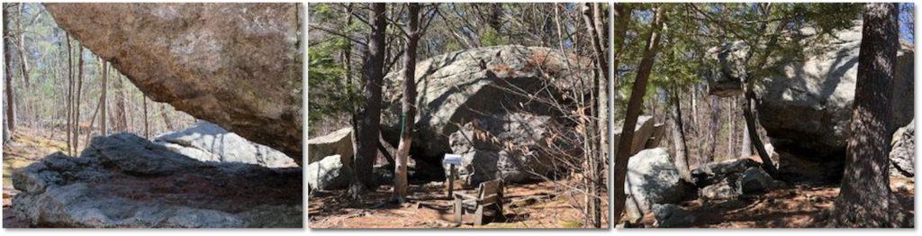glacial erratic, glacial boulder, glacier, Chapma Trail