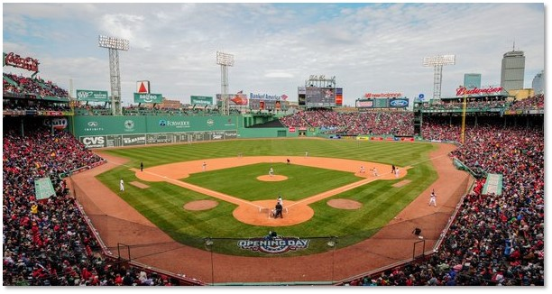Fenway Park, Boston Red Sox. American League East