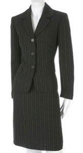 dress for success, conservative suit, business suit,